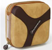 Slappa HardBody 40 CD Pro Carry Case - Camel